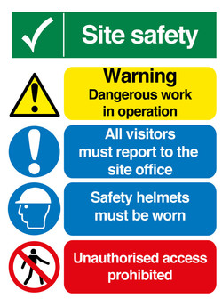 (CS0002) Site Safety Sign-01