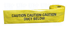 Duct detection tape