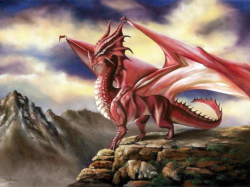 Red Dragon 18x24