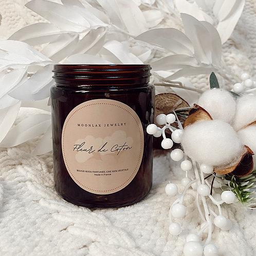 Bougie bijou - Fleur de coton