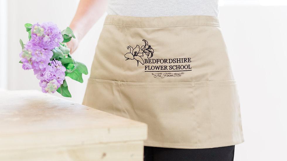 Bedfordshire Flower School Tool Apron