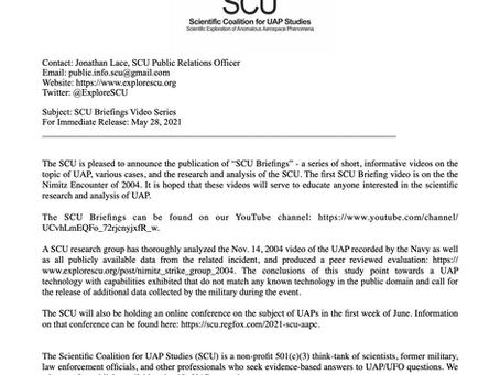 Press Release: SCU Briefing Video Series