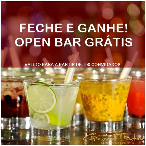 Promoção Feche e Ganhe do buffet Gourmet Festas & Eventos