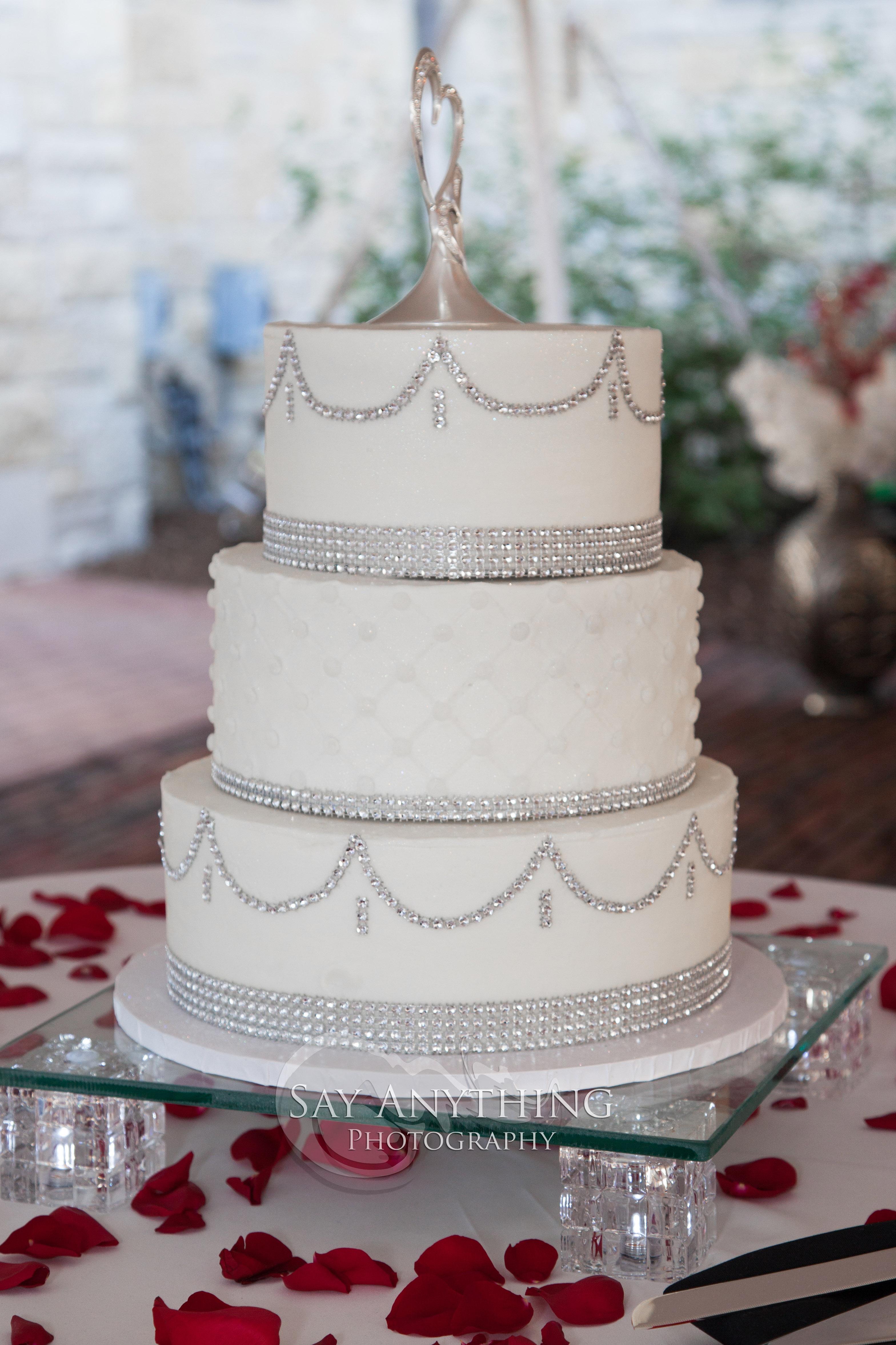 Bling Wedding Cakes