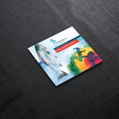 Seahorse Brochure, Packaging & Exhibition Design