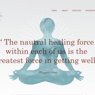 Healers Clinic Website