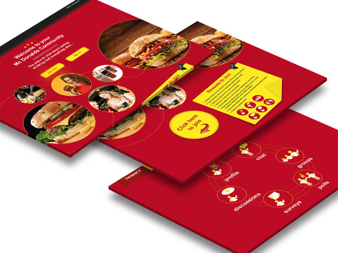McDonald's Webiste