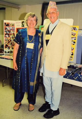 Dick & Sue speaking about Nepal.jpg