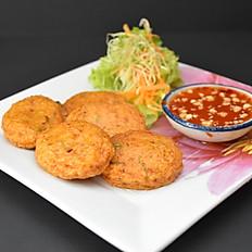 3. Thai Fish Cakes (5 pcs)