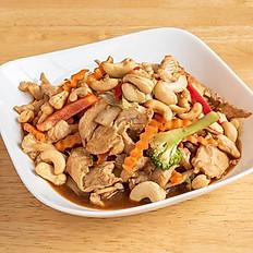 25. Stir-fry Cashew Nuts
