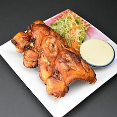 2. Deep Fried Chicken Wings (4pcs)