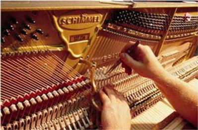 Настроить фортепиано, пианино в Москве