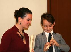 Урок флейты