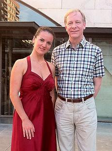 Густав Алинк и Маргарита Музыченко