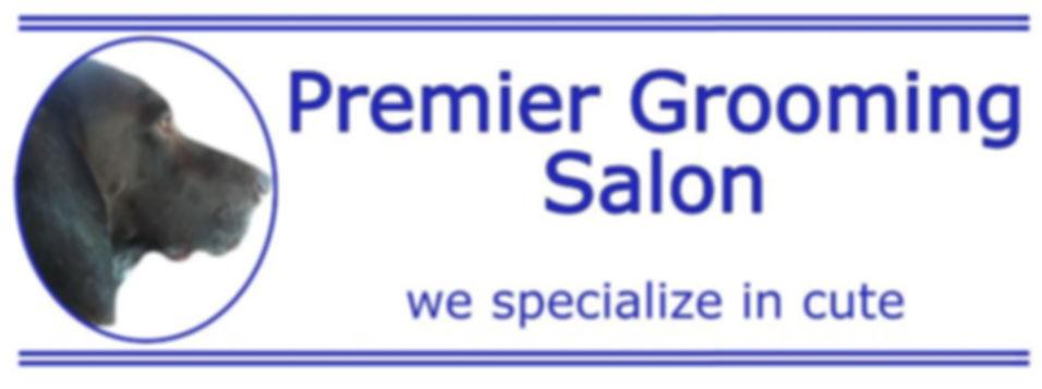 Premier Grooming Salon slogan