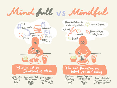 Mind Full or Mindful?  And what is the difference?