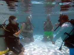 On-site Diver Training