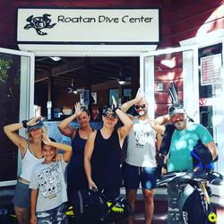 Shark Dive time