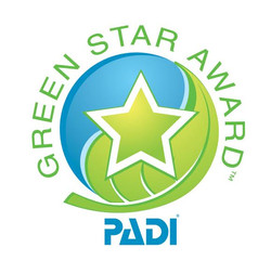 Our PADI Green Star Award for Conser