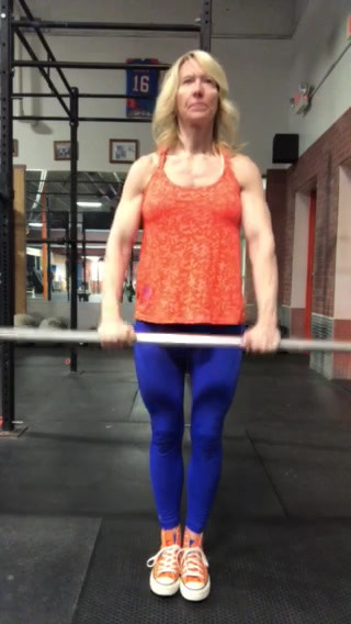Barbell Front Raise
