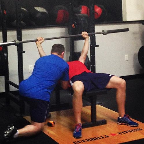 4 Week Customized Powerlifting Program