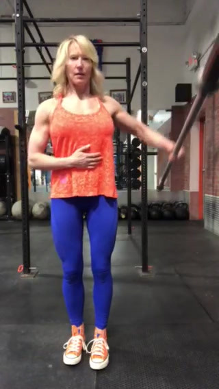 Barbell Lateral Raise