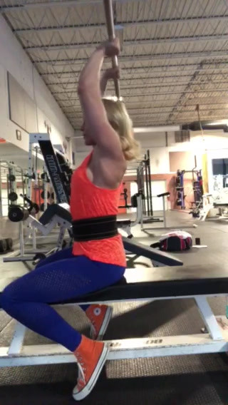 Barbell Overhead Triceps Extension