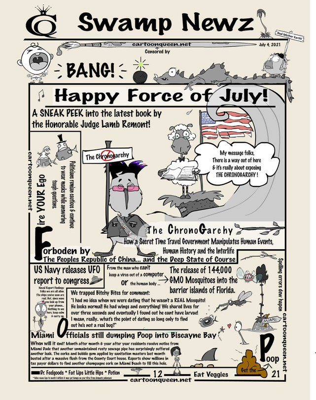 Swamp Newz   Force of July