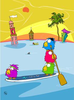 The Paddle Birdz
