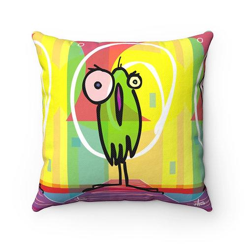 The High Dive | Spun Polyester Square Pillow