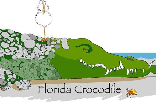 Florida Crocodile - Short-Sleeve Unisex T-Shirt