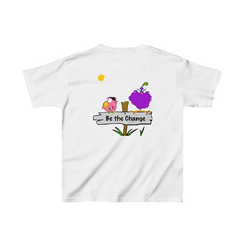 Kids | Be the Change | Two Sided Print | Heavy Cotton™ Tee