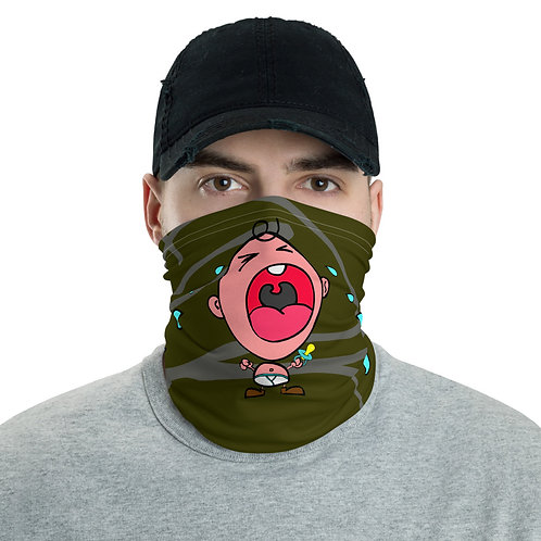 Big Head Baby | Army Green Neck Gaiter