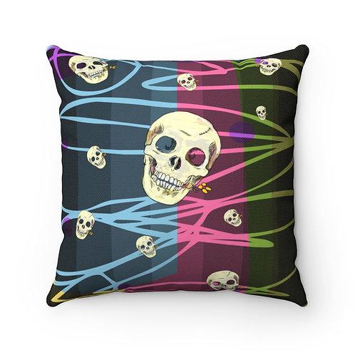 CQ Skull | Spun Polyester Square Pillow