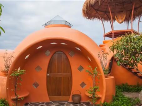 Aircrete Dome Home Buildout