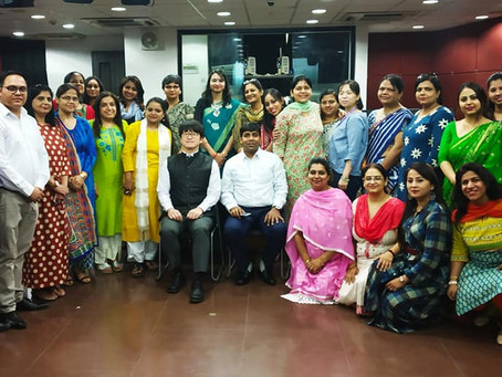 Dr. Biswajeet Saha inaugurated the JALSTA's workshop