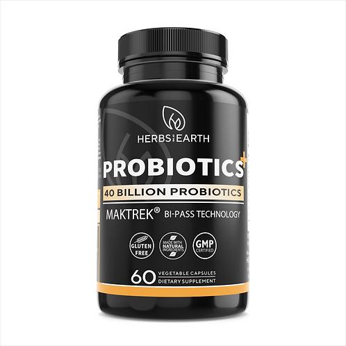 40 Billion Probiotic+ Prebiotic+ MAKTREK Patent