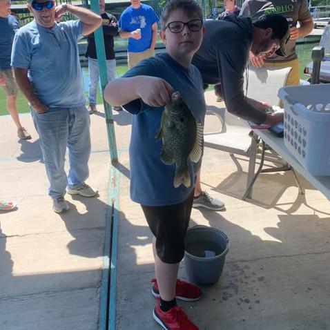 ROHO Fishing Tournament a Hit