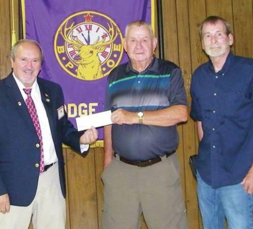 Lodge donates to ROHO Club