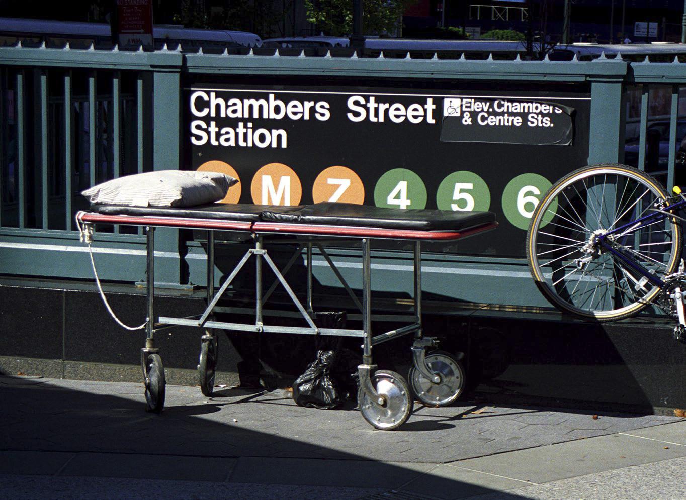The last functioning Subway Stop before Ground Zero