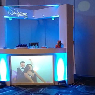 Projection Mapped Bar