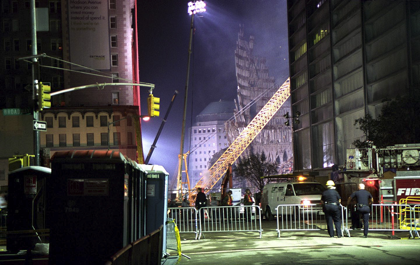 And Then There Was Quiet, New York After 9/11