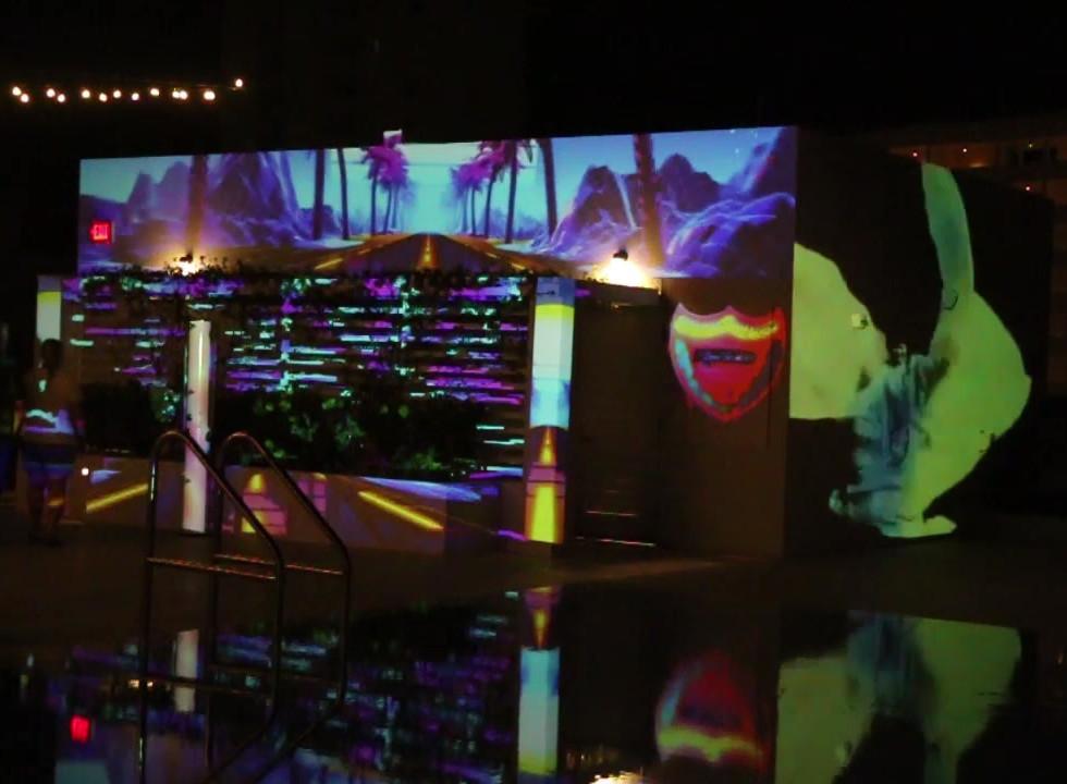 """""""Water & Wall"""" Cabana"""