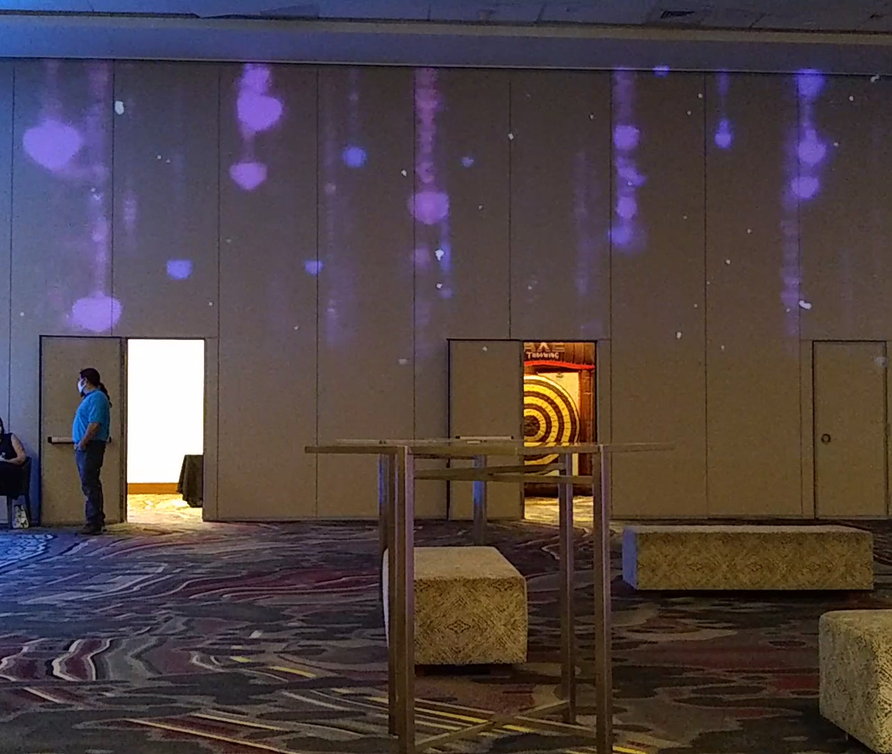 Projection Mapped Air Wall Art Ovations Hotel