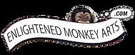 enlightend monkey Logo on transparent.pn