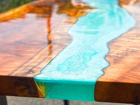 Making a River Table using Liquid Glass