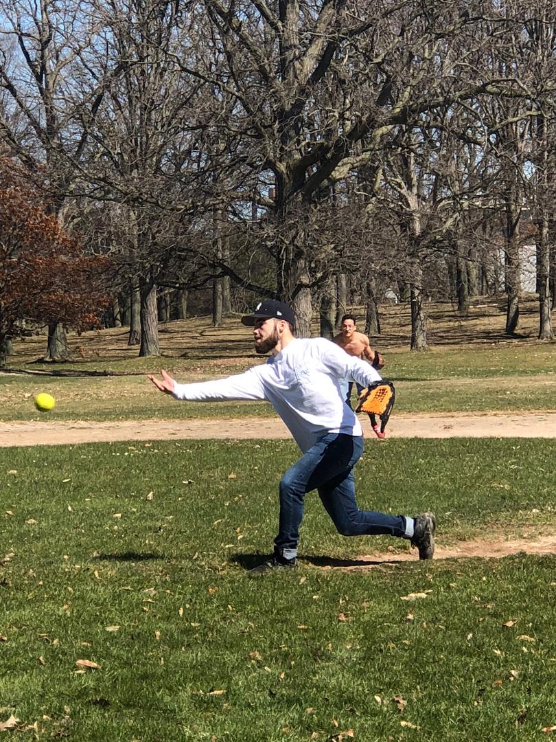 Alumni Day Softball Game