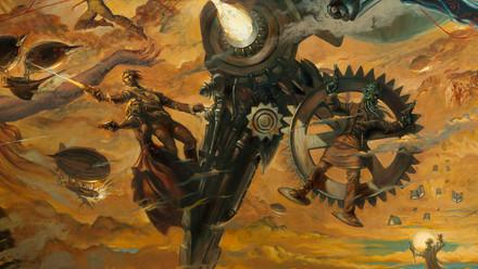 Mural al óleo La escritora