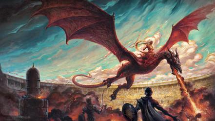 Danza de dragones, de George RR Martin