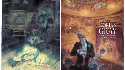 Dorian Gray, ilustración interior y portada alternativa